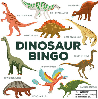 Chronicle Books Dinosaur Bingo Game