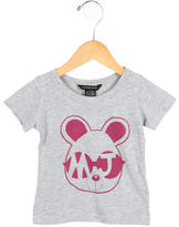 Little Marc Jacobs Girls' Printed Crew Neck T-Shirt