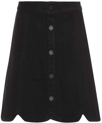 Paige Francesca cotton-blend skirt
