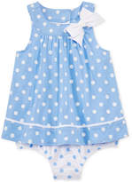 First Impressions Baby Girls' Dot-Print Sunsuit, Only at Macy's