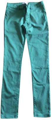 Emilio Pucci Green Cotton Jeans for Women