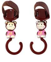 Kylin Express Cute Hot Sale Stroller Hooks Baby Stroller, 2 Pack, (16*4.5CM)