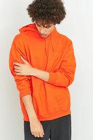 Uo Orange Oversized Hoodie