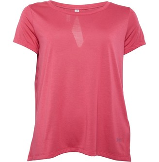 Under Armour Womens Whisperlight Foldover Top Pink