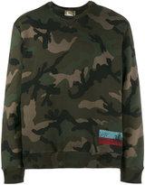 Valentino ID camouflage sweatshirt - men - Cotton/Polyamide - M