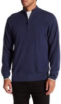 Peter Millar Cashmere Quarter Zip Sweater