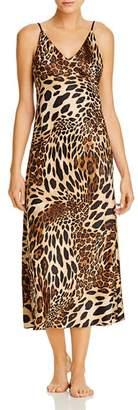 Natori Luxe Leopard Gown