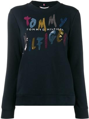 Tommy Hilfiger Roxy crew-neck sweatshirt