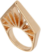 Topshop Triangle Cut Out Ring