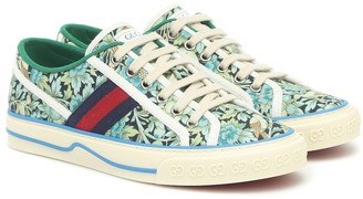 Gucci x Liberty Tennis 1977 canvas sneakers