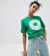 Converse Chuck Patch T-Shirt In Green