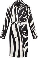 Diane von Furstenberg Libby Zebra Print Coat
