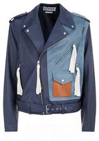 Loewe Patchwork Leather Biker Jacket