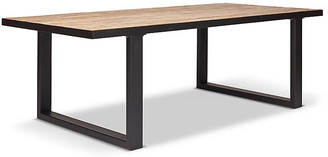 One Kings Lane Chimay Dining Table - Oak/Black