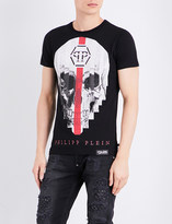 Philipp Plein Skull-print pure-cotton T-shirt