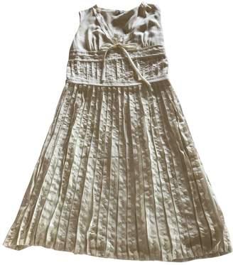 Cacharel Ecru Silk Dress for Women