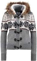 Superdry CHALET SNOW TOGGLE Cardigan grey marl