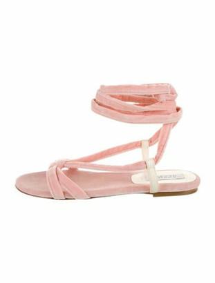 Gabriela Hearst Gladiator Sandals Pink