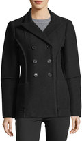 Max Studio Double-Breasted Wool Coat