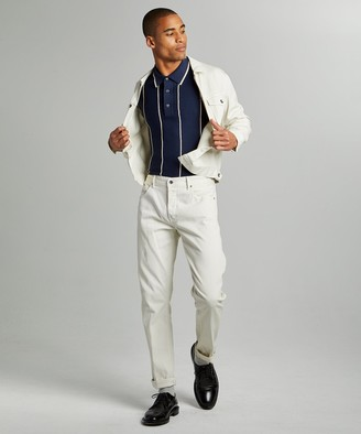 Todd Snyder Slim 5-Pocket Bedford Cord Pant in Birch
