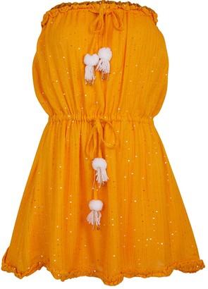 SUNDRESS Anoushka Saint Bath Curcuma White Dress - XS/S