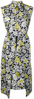 Christian Wijnants sleeveless floral print dress - women - Cupro/Viscose - 34