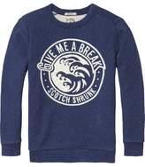 Scotch & Soda Embroidered Artwork Sweater
