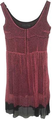 Proenza Schouler Pink Silk Dresses