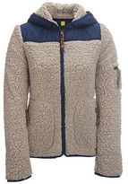 Aeropostale Womens Prince & Fox Bear Fleece Jacket