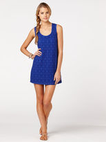 C&C California Lace slub tie back dress