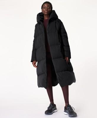 Sweaty Betty Cocoon Down Puffer Wrap Coat