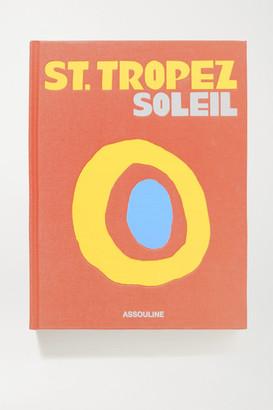 Assouline St. Tropez Soleil By Simon Liberati Hardcover Book - Orange