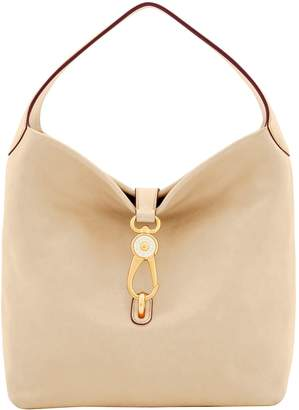 Dooney & Bourke Florentine Logo Lock Shoulder Bag