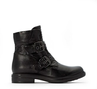 Mjus Buckled Leather Boots