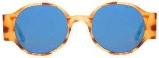 L.G.R Reunion XXL round-frame sunglasses