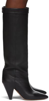 Isabel Marant Black Loens Tall Boots