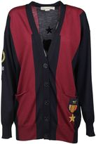 Stella McCartney Cardigan With Red And Blue Stripes