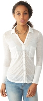 Alternative Everyday Burnout Button Up Shirt
