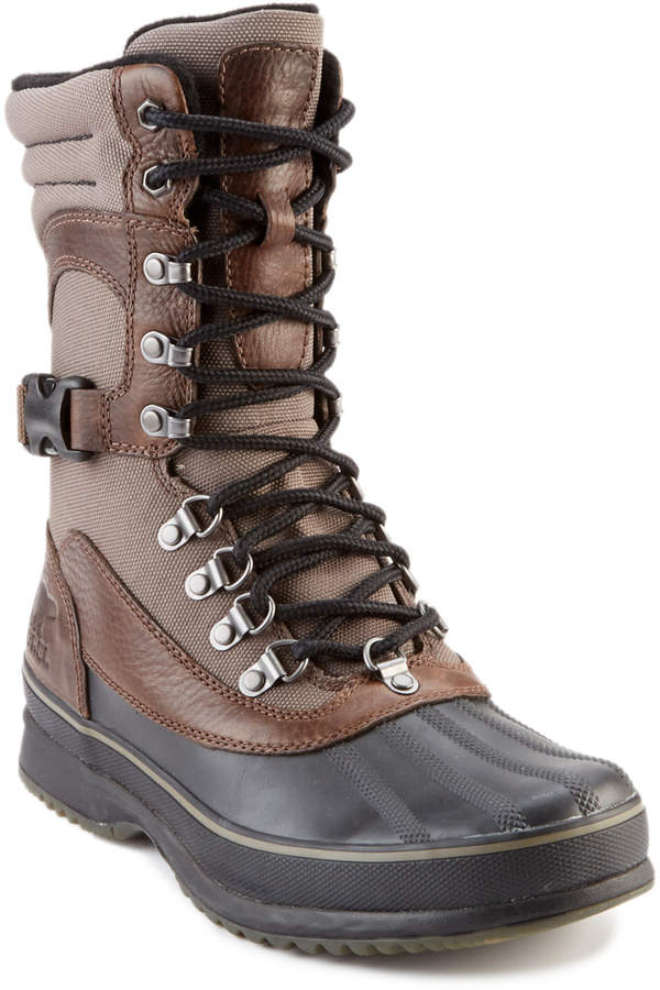Sorel Kitchner Conquest Leather & Canvas Boot