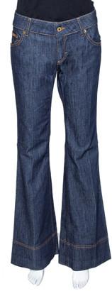 Dolce & Gabbana Indigo Denim Flared Jeans M