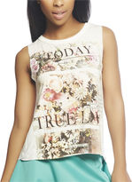 Wet Seal Floral Love Tank