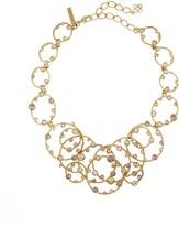 Oscar de la Renta Circular Crystal Necklace