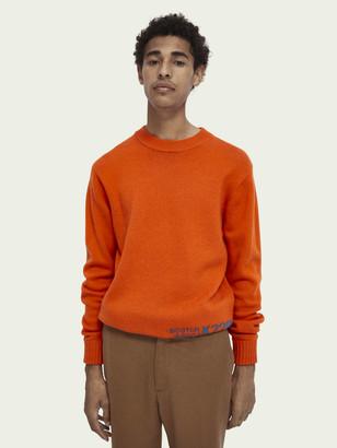 Scotch & Soda Wool-blend artwork knit pullover   Men