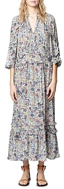 Zadig & Voltaire Realized Paisley Printed Dress