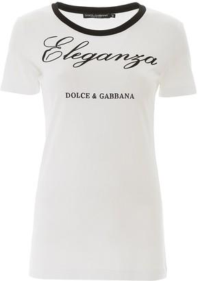 Dolce & Gabbana Eleganza Logo T-Shirt