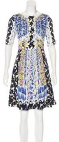 Peter Pilotto Printed A-Line Dress