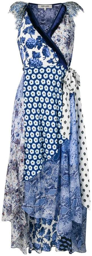 Diane von Furstenberg Ava wrap midi dress