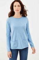 J. Jill Two-Pocket Pullover
