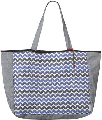 Sophia Enjoy Thinking Jacquard Tote Bag Waves Pattern