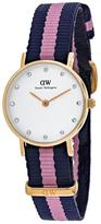 Daniel Wellington Glasgow 0906DW Women's Stainless Steel Watch with Crystal Accents